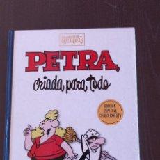 Cómics: ESPECIAL COLECCIONISTA PETRA CRIADA PARA TODO CLASICOS DEL HUMOR; TAPA DURA. Lote 190009332