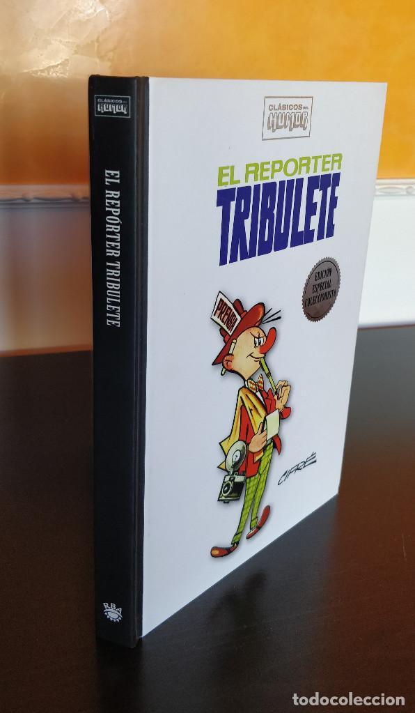 Cómics: ESPECIAL COLECCIONISTA El reporter Tribulete CLASICOS DEL HUMOR; tapa dura - Foto 3 - 190009475