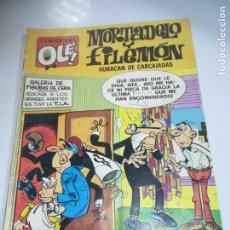 Cómics: COLECCION OLE!. MORTADELO Y FILEMON. HURACAN DE CARCAJADAS. 138-M.8. EDICIONES B. 1º EDICION 1987. Lote 190404817