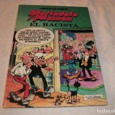 Cómics: MAGOS DEL HUMOR , MORTADELO Y FILEMON N. 44 .EL RACISTA.. Lote 190496190