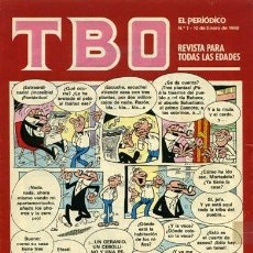 Cómics: TBO. EL PERIÓDICO EDICIONES PRIMERA PLANA COMPLETA A FALTA DE 1 Nº.. Lote 190709953