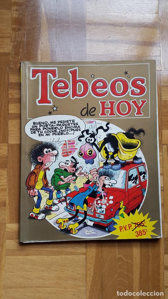 TEBEOS DE HOY Nº 14. - RETAPADO CON 4 TEBEOS - TBO GUAY Y SUPER LOPEZ. VER FOTOS (Tebeos y Comics - Ediciones B - Clásicos Españoles)