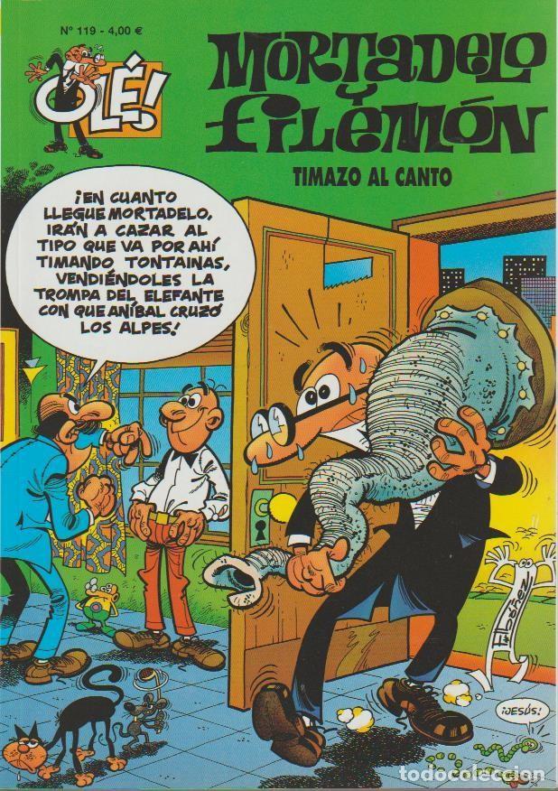 Cómics: OLÉ ! MORTADELO Y FILEMON ( B ) ORIGINALES 1993 - 2009 LOTE - Foto 106 - 173903222