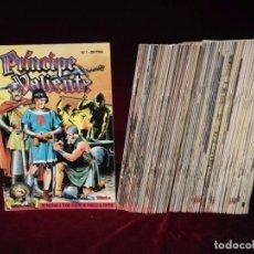 Cómics: COLECCIÓN COMPLETA 1 AL 91 EDICIÓN HISTÓRICA PRÍNCIPE VALIENTE TEBEOS ESTADO DE KIOSKO OFERTA!!!!!!!. Lote 191571952