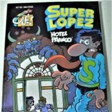 Cómics: SUPER LOPEZ Nº 19 - HOTEL PANICO - POR JAN - 1º EDICION 1993 - EDICIONES B - TAPA BLANDA. Lote 191627193