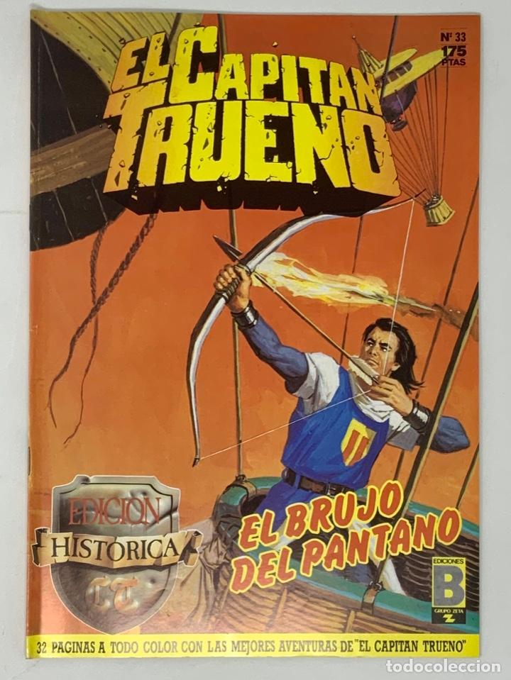 EL CAPITÁN TRUENO EDICION HISTÓRICA EDICIONES B NUMERO 33 (Tebeos y Comics - Ediciones B - Clásicos Españoles)