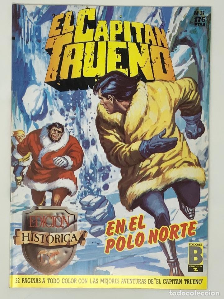 EL CAPITÁN TRUENO EDICION HISTÓRICA EDICIONES B NUMERO 37 (Tebeos y Comics - Ediciones B - Clásicos Españoles)