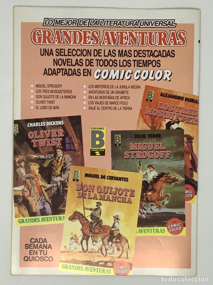 Cómics: EL CAPITÁN TRUENO EDICION HISTÓRICA EDICIONES B NUMERO 37 - Foto 2 - 191719735