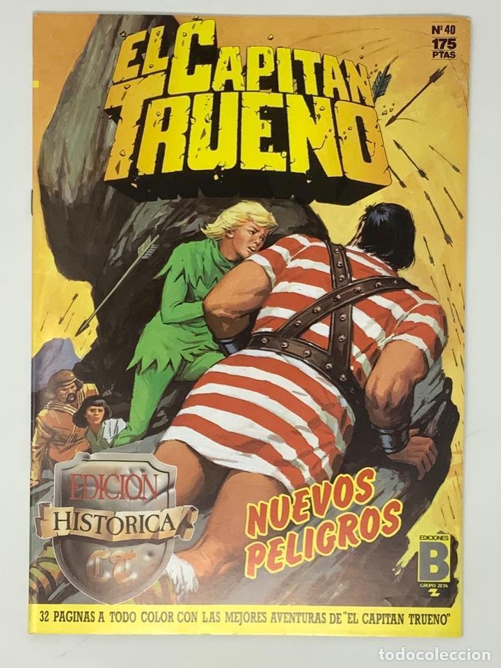 EL CAPITÁN TRUENO EDICION HISTÓRICA EDICIONES B NUMERO 40 (Tebeos y Comics - Ediciones B - Clásicos Españoles)