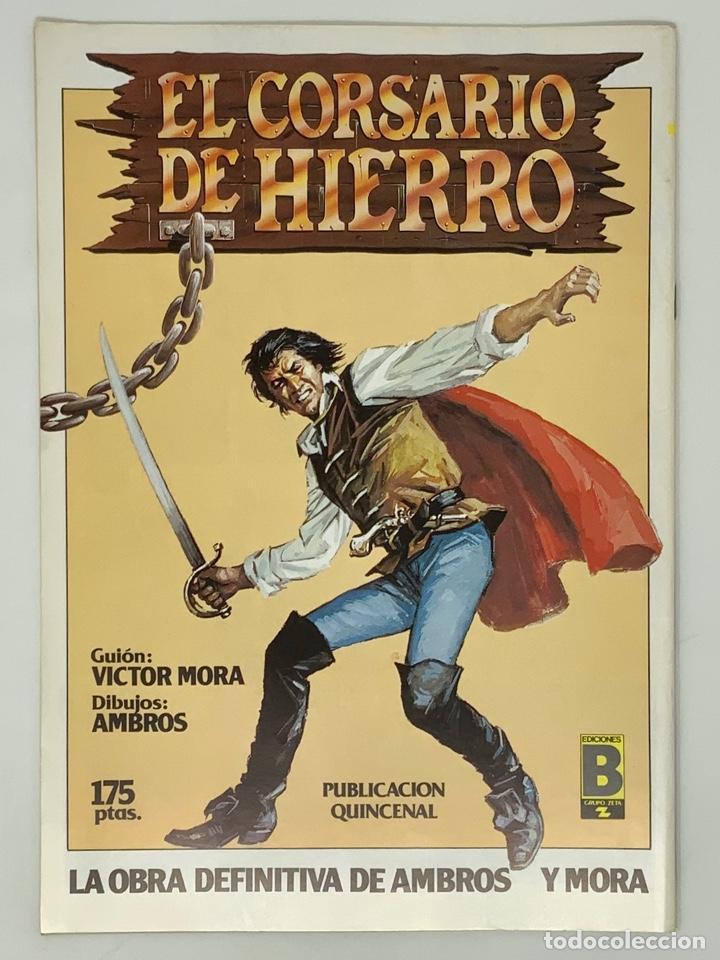 Cómics: EL CAPITÁN TRUENO EDICION HISTÓRICA EDICIONES B NUMERO 40 - Foto 2 - 191719902