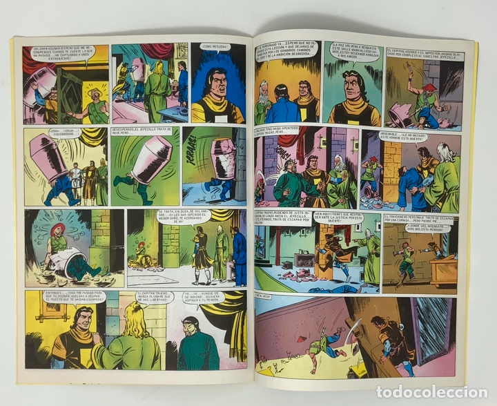 Cómics: EL CAPITÁN TRUENO EDICION HISTÓRICA EDICIONES B NUMERO 40 - Foto 3 - 191719902