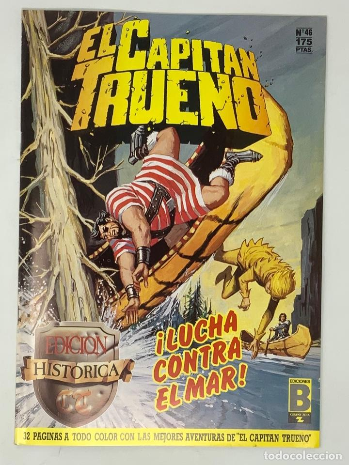 EL CAPITÁN TRUENO EDICION HISTÓRICA EDICIONES B NUMERO 46 (Tebeos y Comics - Ediciones B - Clásicos Españoles)