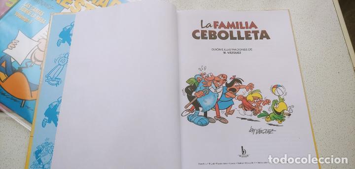 Cómics: Magos del Humor nº 142 La Familia Cebolleta Vázquez 2011 - Foto 3 - 191797562