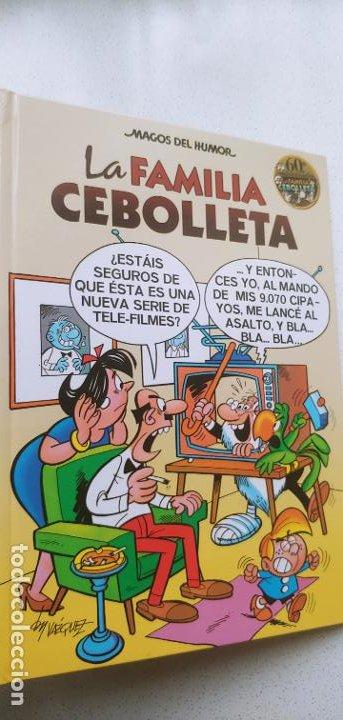 MAGOS DEL HUMOR Nº 142 LA FAMILIA CEBOLLETA VÁZQUEZ 2011 (Tebeos y Comics - Ediciones B - Clásicos Españoles)
