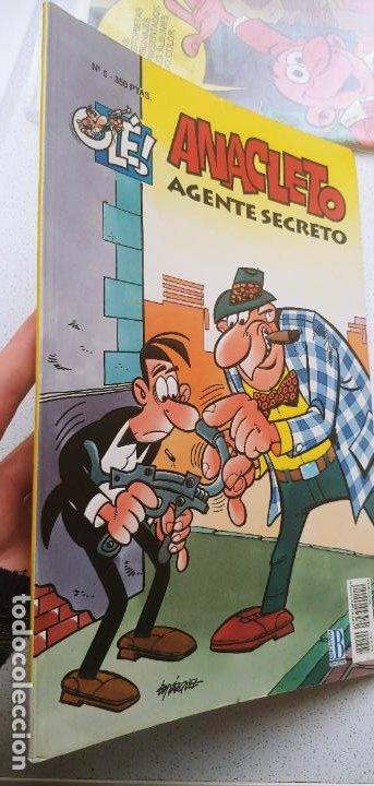 Cómics: Colección Olé nº 5 Anacleto agente secreto Ediciones B 1993 - Foto 2 - 191801368
