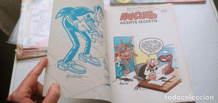 Cómics: Colección Olé nº 5 Anacleto agente secreto Ediciones B 1993 - Foto 5 - 191801368