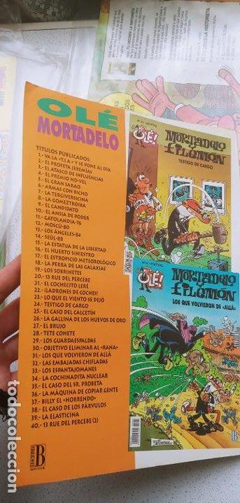 Cómics: Colección Olé nº 5 Anacleto agente secreto Ediciones B 1993 - Foto 8 - 191801368