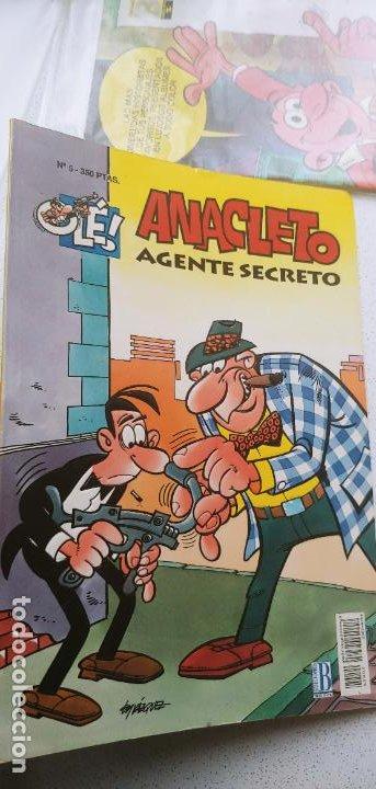 COLECCIÓN OLÉ Nº 5 ANACLETO AGENTE SECRETO EDICIONES B 1993 (Tebeos y Comics - Ediciones B - Clásicos Españoles)