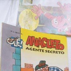 Cómics: COLECCIÓN OLÉ Nº 5 ANACLETO AGENTE SECRETO EDICIONES B 1993. Lote 191801368