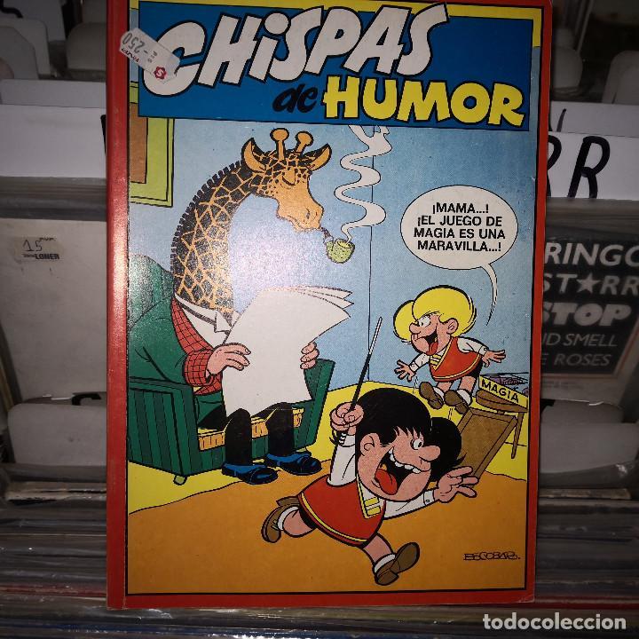 CHISPAS DE HUMOR Nº 3: RETAPADO: MORTADELO Nº 5.,6 . ZIPI ZAPE Nº 5,6. PULGARCITO Nº 27 (Tebeos y Comics - Ediciones B - Clásicos Españoles)