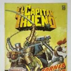 Cómics: EL CAPITÁN TRUENO EDICION HISTÓRICA EDICIONES B NUMERO 20. Lote 192219578