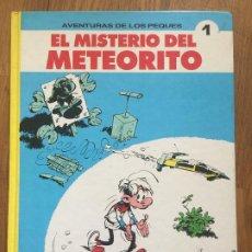 Cómics: AVENTURAS DE LOS PEQUES 1 - EL MISTERIO DEL METEORITO - EDICIONES B - 1ª EDICION - TAPA DURA - GCH1. Lote 192323383