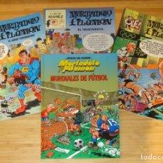 Cómics: LOTE 4 CÓMICS DE MORTADELO Y FILEMÓN. Lote 192594195