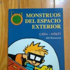 Fumetti: CALVIN Y HOBBES COLECCIÓN FANS Nº 24 - MONSTRUOS DEL ESPACIO EXTERIOR. Lote 192638273