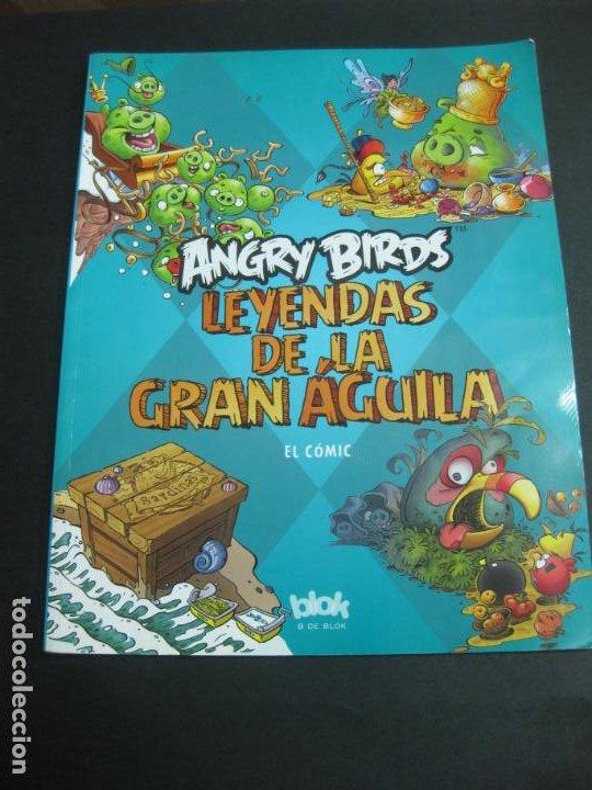 ANGRY BIRDS. LEYENDAS DE LA GRAN AGUILA. EL COMIC. EDICIONES B 2012. (Tebeos y Comics - Ediciones B - Otros)