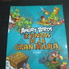 Cómics: ANGRY BIRDS. LEYENDAS DE LA GRAN AGUILA. EL COMIC. EDICIONES B 2012.. Lote 192867590