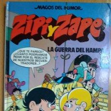 Cómics: COLECCION MAGOS DEL HUMOR Nº 37 - ZIPI Y ZAPE - LA GUERRA DEL HAMPA - EDICIONES B 1990. 1ª EDICION. Lote 192968126