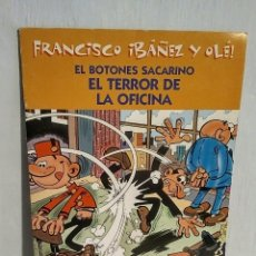 Cómics: EL BOTONES SACARINO - FRANCISCO IBÁÑEZ Y OLÉ, ED. B, 2001. Lote 193248061