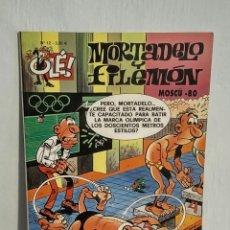 Cómics: OLÉ MORTADELO Y FILEMÓN - 12 MOSCÚ 80, IBÁÑEZ, ED. B, 2006. Lote 193249150