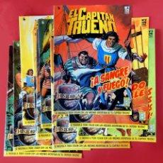 Cómics: EL CAPITÁN TRUENO, LOTE DE 10 PORTADAS ( Nº 1 AL 10) EDICIÓN HISTÓRICA EN COLOR, EDICIONES B. Lote 193367526