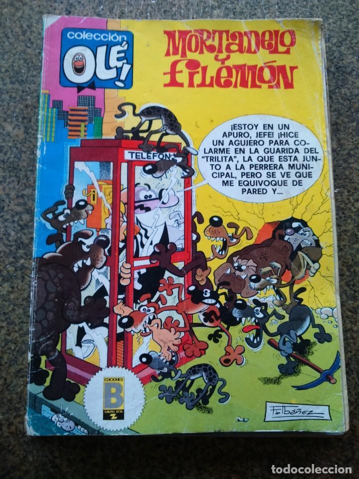 COLECCION OLE -- MORTADELO Y FILEMON -- 203-M. 135 -- EDICIONES B 1989 -- (Tebeos y Comics - Ediciones B - Clásicos Españoles)