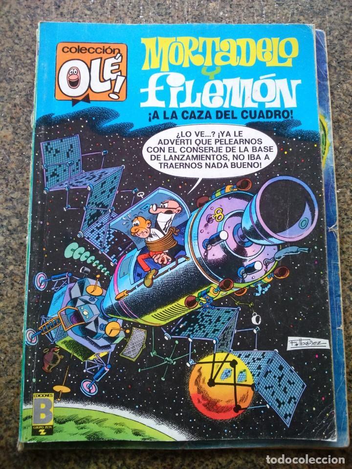 COLECCION OLE -- MORTADELO Y FILEMON A LA CAZA DEL CUADRO -- 96-M. 62 -- EDICIONES B 1988 -- (Tebeos y Comics - Ediciones B - Clásicos Españoles)