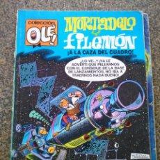 Cómics: COLECCION OLE -- MORTADELO Y FILEMON A LA CAZA DEL CUADRO -- 96-M. 62 -- EDICIONES B 1988 --. Lote 193943093
