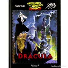 Cómics: HORREIBOLS AND TERRIFICS BOOKS 1. DRACULA. ALFONSO AZPIRI. FORGES. Lote 193976378