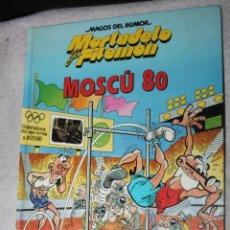 Cómics: MAGOS DEL HUMOR - Nº 54 - MORTADELO Y FILEMON , MOSCU 80. Lote 193993521