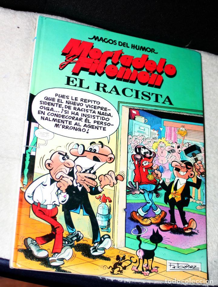 MAGOS DEL HUMOR. Nº 44. - MORTADELO Y FILEMON -. EL RACISTA. (Tebeos y Comics - Ediciones B - Clásicos Españoles)