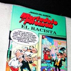 Cómics: MAGOS DEL HUMOR. Nº 44. - MORTADELO Y FILEMON -. EL RACISTA.. Lote 193995577