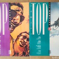 Cómics: LOTE TOP CÓMICS VOLÚMENES II Y III: NÚMEROS 1-2/4-5-6-7-8-9-10 (EDICIONES B, 1993). LIBROS CO & CO.. Lote 193923525