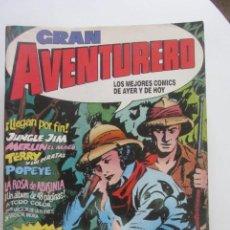 Cómics: LOTE GRAN AVENTURERO BASTANTE COMPLETA Nº 1 2 3 4 5 7 10 11 12 EDICIONES B CX41. Lote 194124427