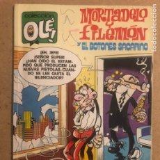 Cómics: MORTADELO Y FILEMÓN Y EL BOTONES SACARINO N° 188 (EDITORIAL B 1988).. Lote 194131992