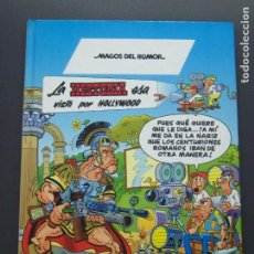Cómics: MAGOS DEL HUMOR 62 MORTADELO Y FILEMON LA HISTORIA ESA VISTA POR HOLLYWOOD. Lote 194160263