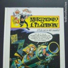 Cómics: PLURAL MORTADELO Y FILEMON A LA CAZA DEL CUADRO. Lote 194160591