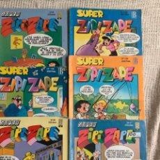 Cómics: SUPER ZIPI ZAPE , LOTE DE Nº 6 EJEMPLARES - EDITA : EDICIONES B. Lote 194189206