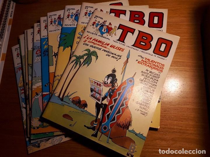 TBO, EDICIONES B 1988. DEL 1 AL 10 (Tebeos y Comics - Ediciones B - Clásicos Españoles)