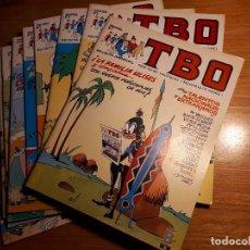 Cómics: TBO, EDICIONES B 1988. DEL 1 AL 10. Lote 194211930