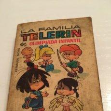 Cómics: LA FAMILIA TELERIN EN OLIMPIADA CON DIBUJOS ANIMADOS. Lote 194228055